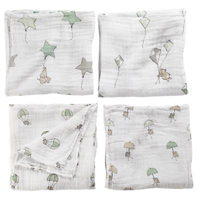 Up, Up and Away Swaddle Blankets