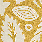 Forest Floor Yellow Rug Swatch