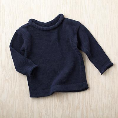 2-4 yrs. MJK Knit Sweater (Blue)