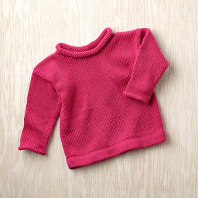 12-18 mos. MJK Knit Sweater (Pink)