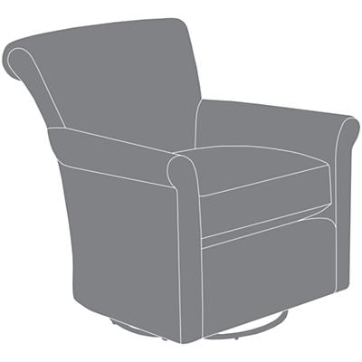 Swivel Glider Slipcover