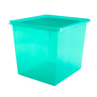 Green Cube Top Box