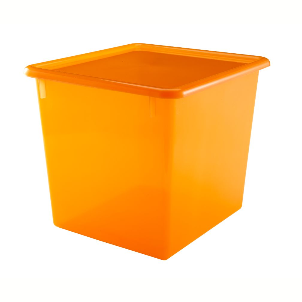 Orange Cube Top Box