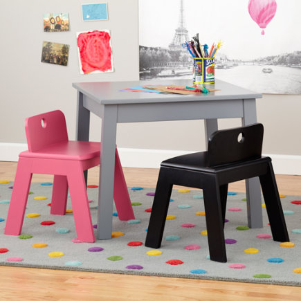 - Pink Mojo Chair<br />Floor to Seat: 14 H <br/>