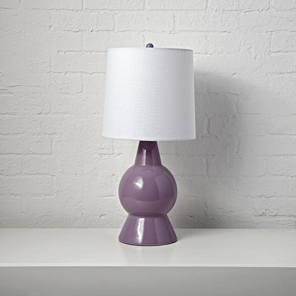 Beacon Purple Table Lamp