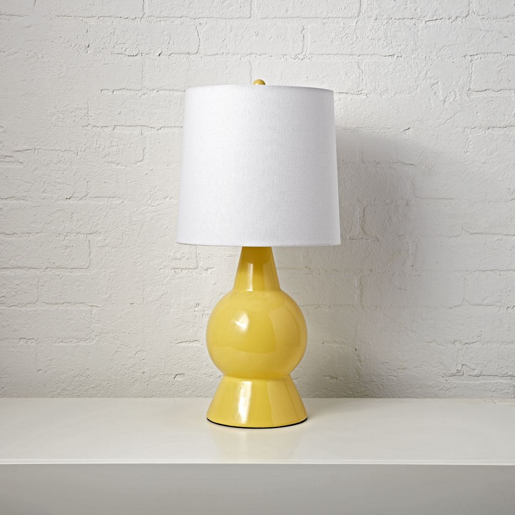 Beacon Yellow Table Lamp