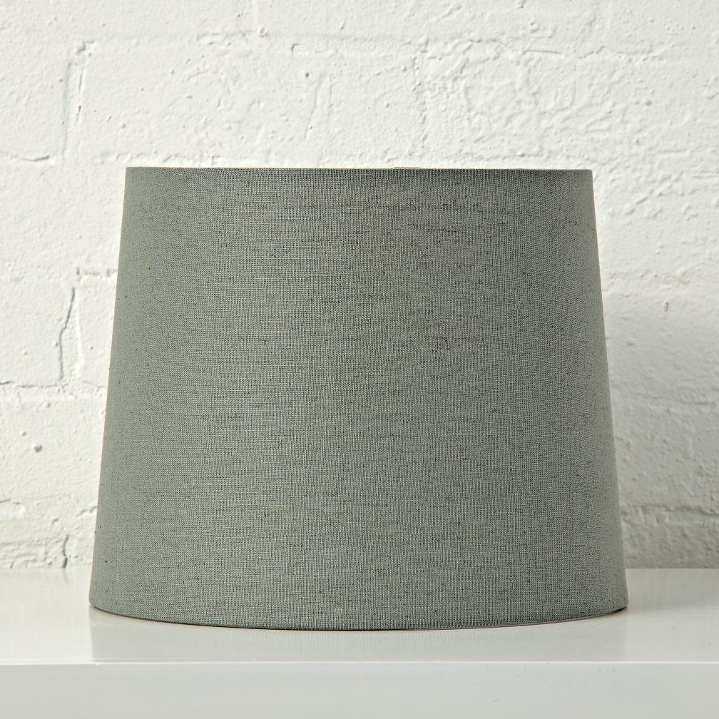 Mix And Match Grey Table Lamp Shade The Land Of Nod