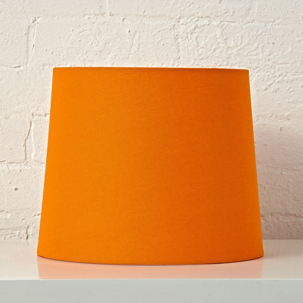 Mix And Match Orange Table Lamp Shade The Land Of Nod