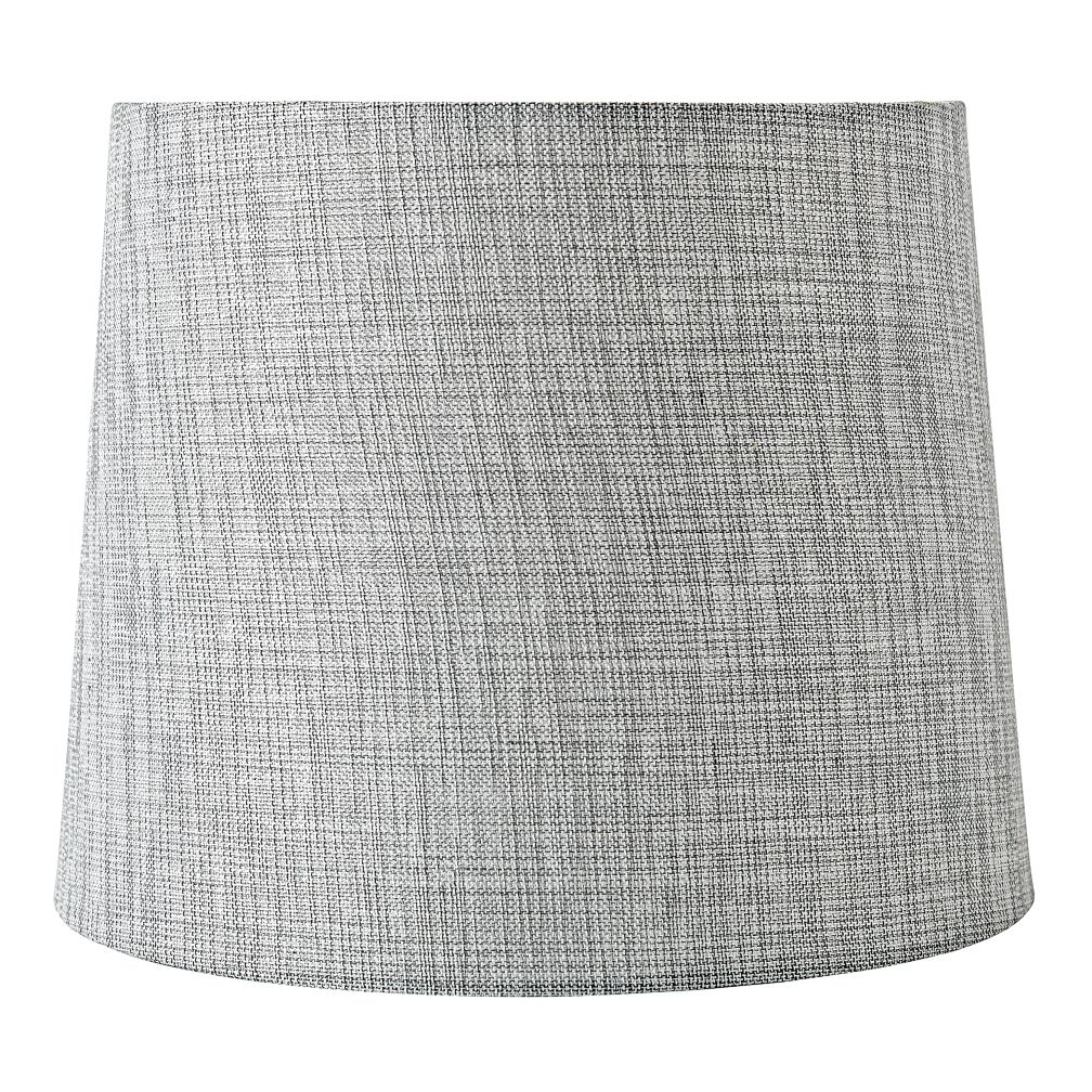 Mix and Match Silver Textured Table Shade