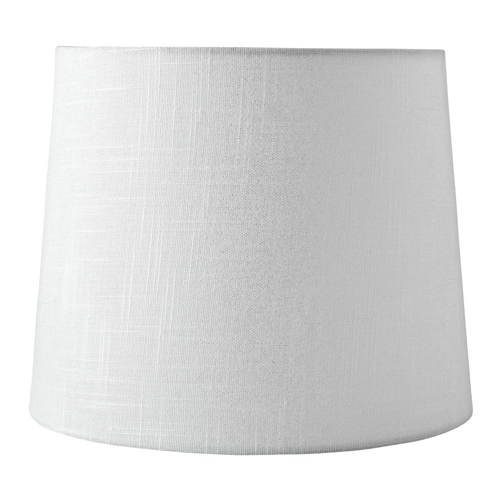 Mix and Match White Textured Table Shade