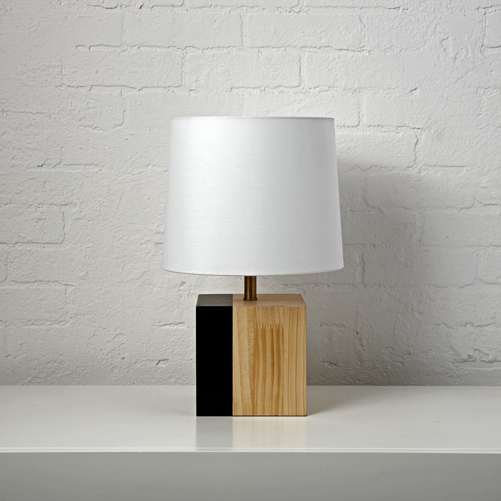 Split Square Table Lamp