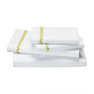 Full Ric Rac Sheet Set (Green)