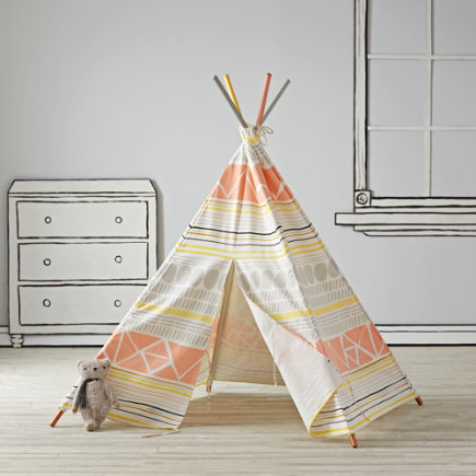 Aztec Kids Teepee - Rosa Teepee to Call Your Own