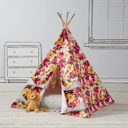 Blooms Teepee To Call Your Own