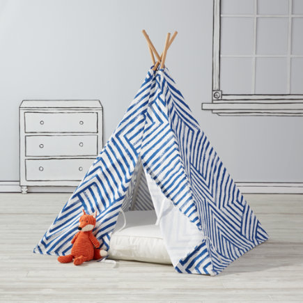Blue Maze Teepee To Call Your Own