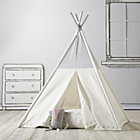 Silver Metallic A Teepee & Cushion to Call Your Own Set