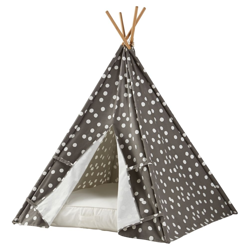 A Teepee & Cushion to Call Your Own Set (Speckled)