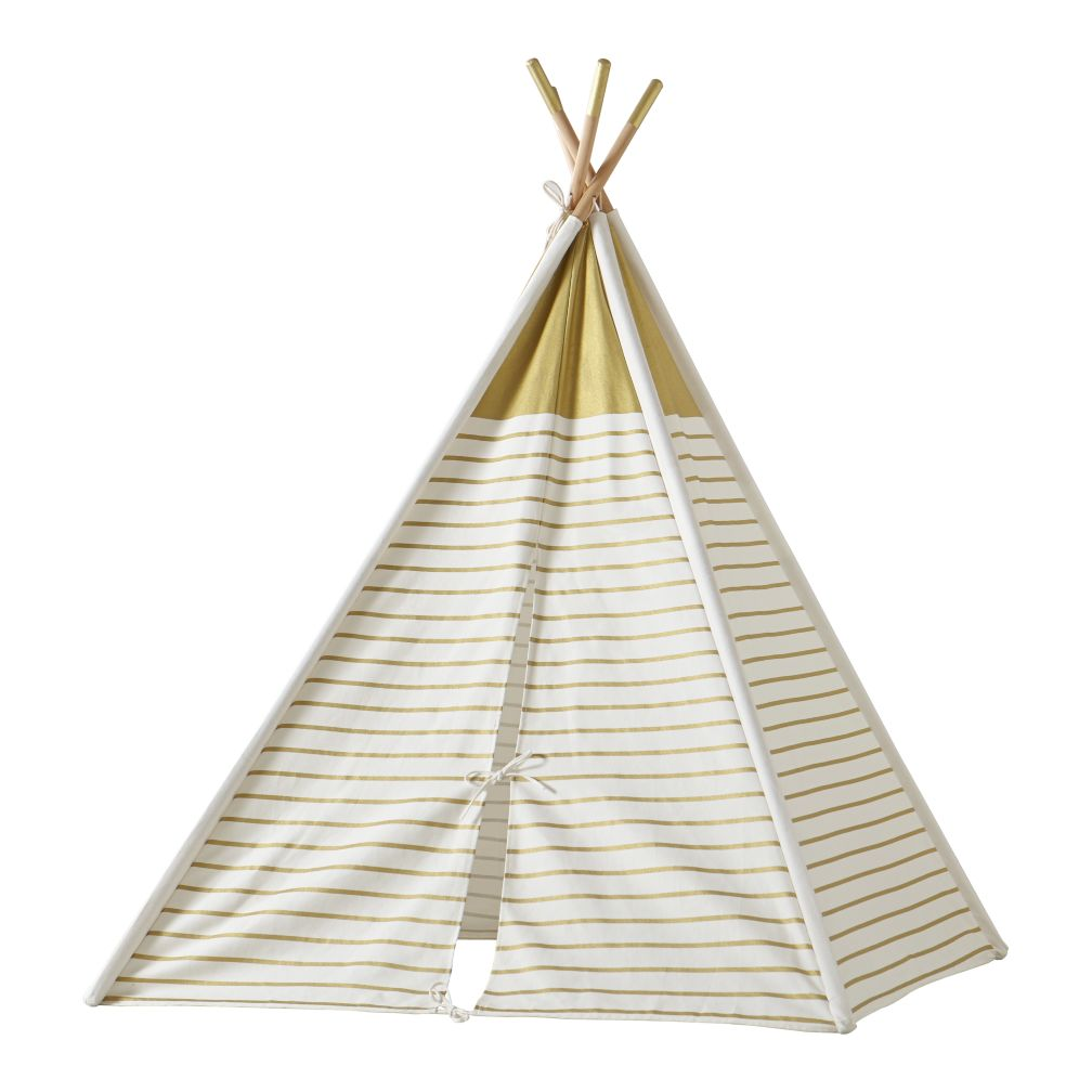 A Teepee To Call Your Own Gold Metallic The Land Of Nod