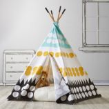 A Teepee & Cushion to Call Your Own Set (Multi Dot)
