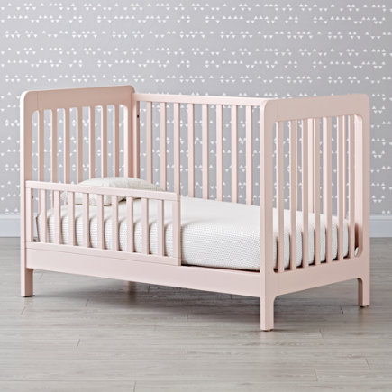 - Blush Carousel Toddler Rail