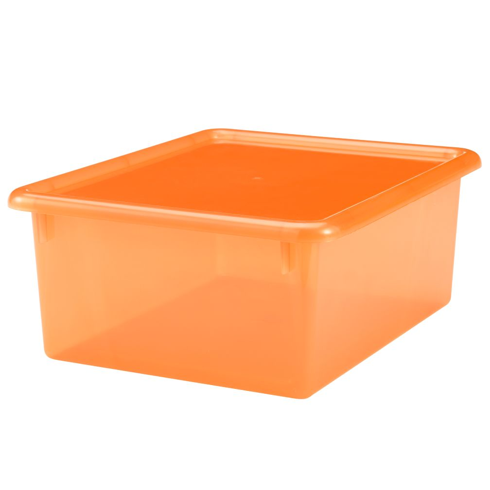 Orange  Medium Top Box