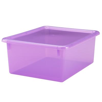 Purple  Medium Top Box