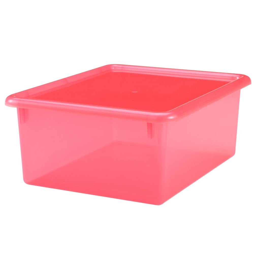 Red  Medium Box Top Box