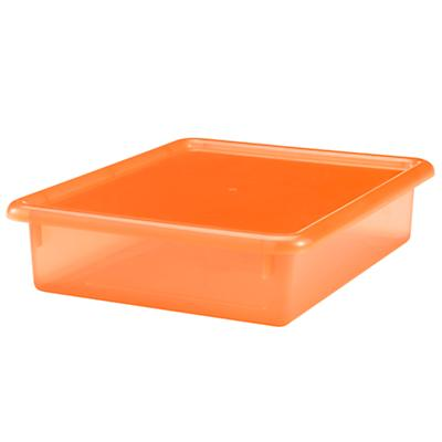 "Orange 3.5"" Top Box"