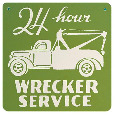 Tow Truck Sign (Green)