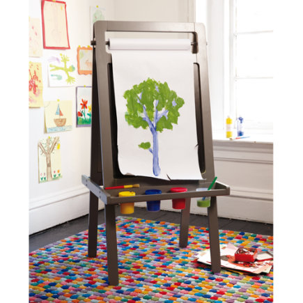 Grey Artists Portrait Easel