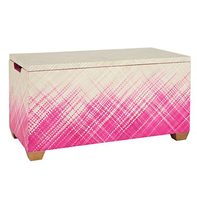 Color Weave Toy Box (Hot Pink)
