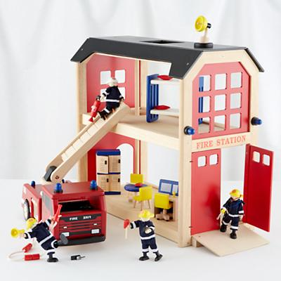 Everything but the Dalmatian Firehouse Set