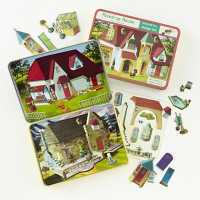 Magnetic Tins Mixed Up House