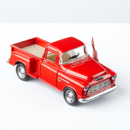 Kids Toys: Kids Classic 1950s Style Pickup Truck - 1955 Classic Pick Up Truck Assorted Colors