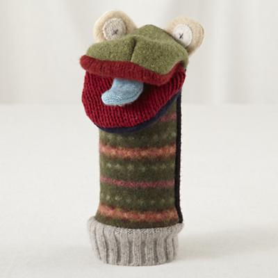 Pullover Hand Puppet (Frog)