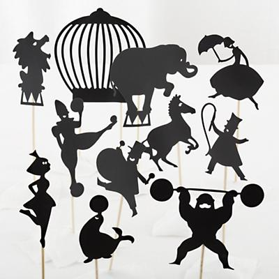 Circus Shadow Puppets