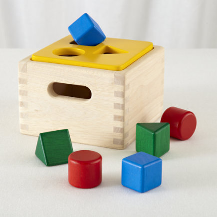 Kids Toys: Colorful Shape Sorter Box Toy - Sort it Out Shape Sorter