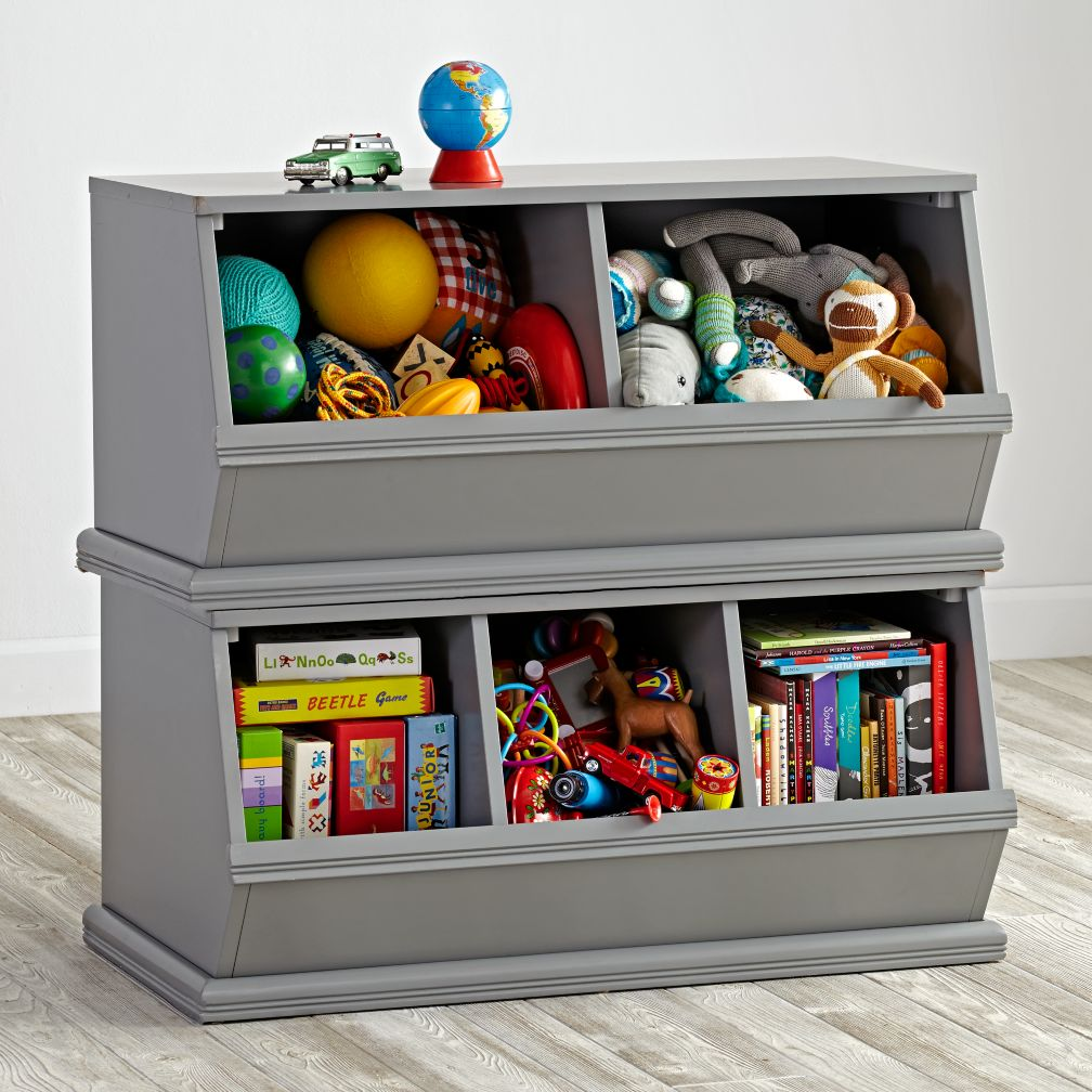 Kids Storage Bench Furniture Toy Box Bedroom Playroom: The Land Of Nod