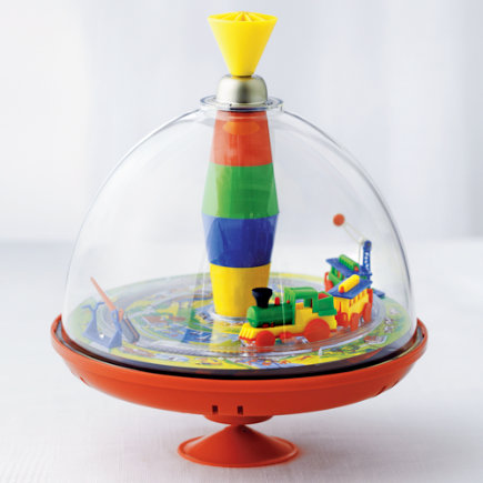 Round Trip Train Musical Spinning Top - Musical Train Top Toy
