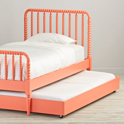 - Jenny Lind Coral Trundle Bed