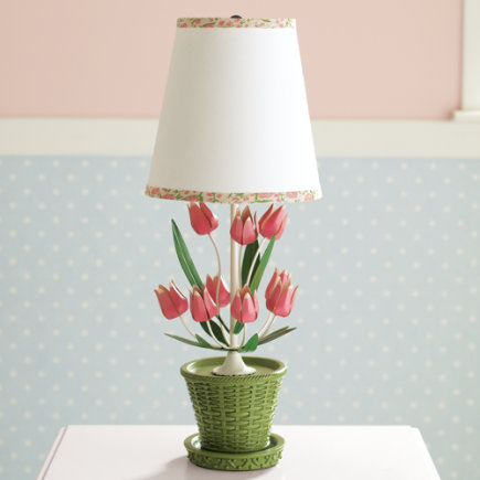 Kids Lighting: Kids Tulip Flower Lamp - Tulip Lamp