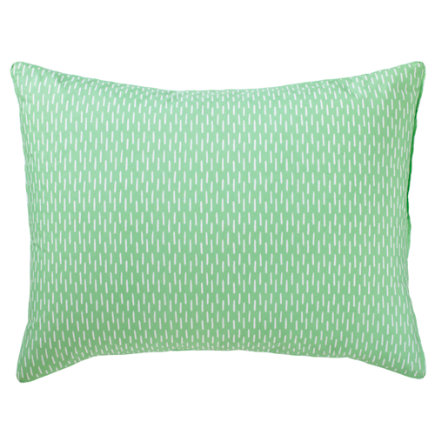 Kids Pillows: Green Branches Pillow Sham - Green Branches Sham