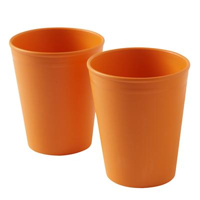 Orange Table Tumblers (Set of 2)
