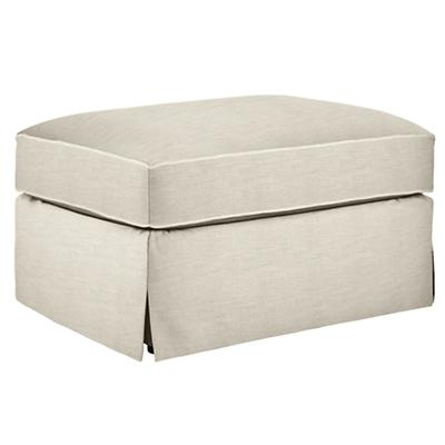 Mod Nod Ottoman (Devote Cream)