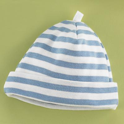 0-6 mos. Blue/White Hat