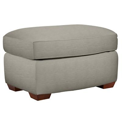 Attractive American Ottoman (Devote Pewter)