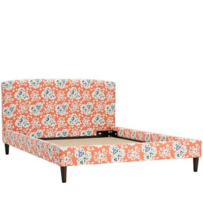 Full Upolstered Bed (Cecilia Coral)