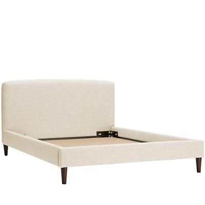 Full Upholstered Bed (Zuma Vanilla)