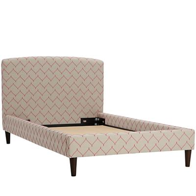 Twin Upholstered Bed (DuJour Rosario)