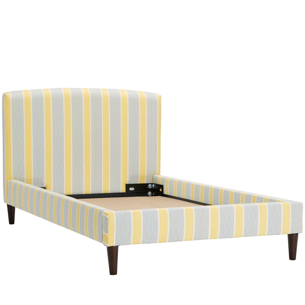 Upholstered Bed (Eze lemon)